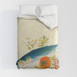 Takeuchi Seiho - Autumn Fattens Fish and Ripens Wild Fruits - Digital Remastered Edition Comforters