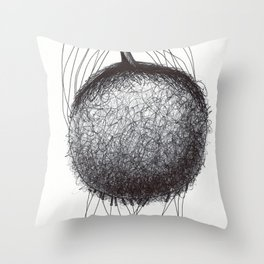 Natural being N.6 Throw Pillow
