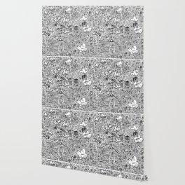 Crazy doodles Wallpaper