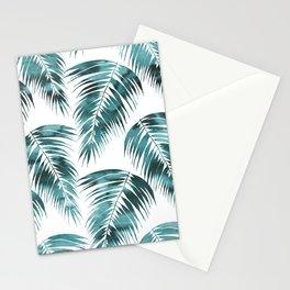 Maui Palm Leaf 2 green Stationery Cards