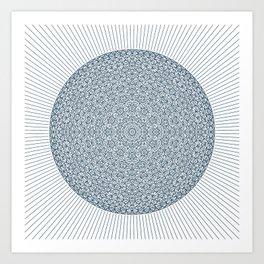 #990 Rays Art Print