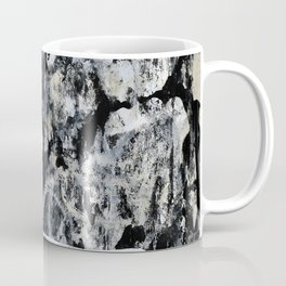 004: a vibrant abstract design in black and white by Alyssa Hamilton Art  Coffee Mug