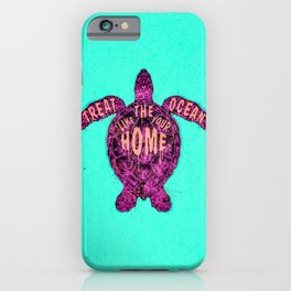ocean omega (variant) iPhone Case