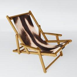 Zebra - zebra stripes -zebra skin - genuine - beautiful - #society6 #buyart Sling Chair