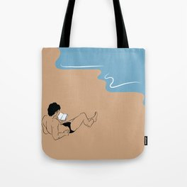 Book at the Beach Tote Bag