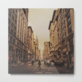 5th Ave Metal Print