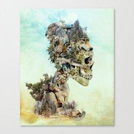 Nature Skull Canvas Print