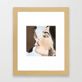 kimye Framed Art Print