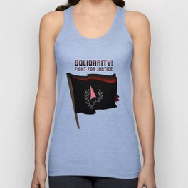 Solidarity in the Fight for Justice Unisex Tank Top