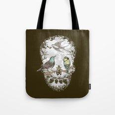 Nature's Skull II Tote Bag