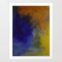 Somewhere in the Middle Art Print