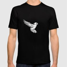 Hummingbird MEDIUM Black Mens Fitted Tee