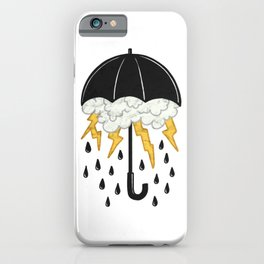 Umbrealla Storm iPhone Case