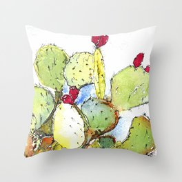 The Fruits of the Sun Throw Pillow