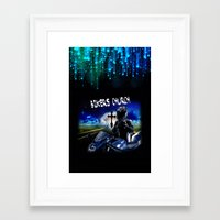 discount Framed Art Prints featuring Bikers Church Discount by Paint-Shack Design