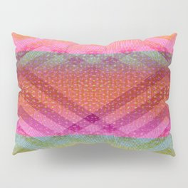 Colorful Angles Pillow Sham