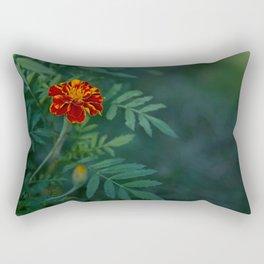 Flowers Tagetes Rectangular Pillow