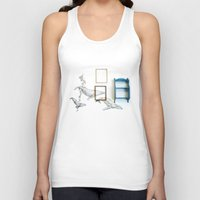 whales Tank Tops featuring Whales by Spirit Tooth