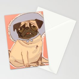 puggy love Stationery Cards