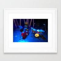 the mortal instruments Framed Art Prints featuring Instruments by Mauricio Santana