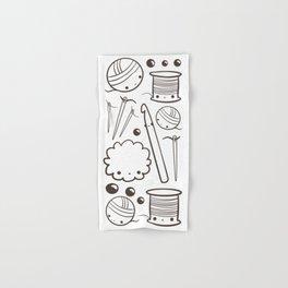 crochet cute - kawaii craft supplies Hand & Bath Towel