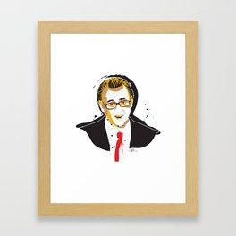 Steve BuscemiINK_Mr. Pink Framed Art Print