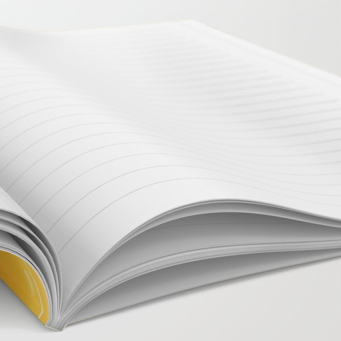 Orange Cheese Texture - Food Pattern Notebook