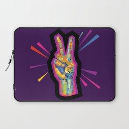 Peace in Dark Times Laptop Sleeve