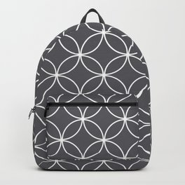 Circles Graphite Gray Backpack