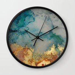 on golden pond Wall Clock