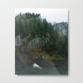 Pine Collective Metal Print