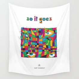 So it goes - Vonnegut Wall Tapestry
