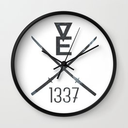 Vexl33t brand logo Wall Clock