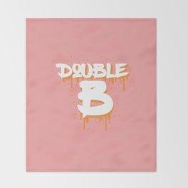 DOUBLE B Throw Blanket