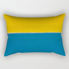 Untitled (Yellow and Blue) by Mark Rothko HD Rectangular Pillow