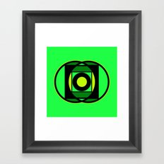 The Lantern's Glow Framed Art Print