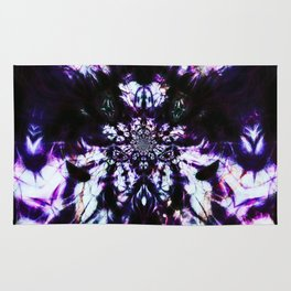abstract spider c Rug