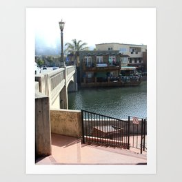 Morning in Capitola Art Print