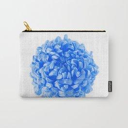 Blue Pop Art Inspired Flower Carry-All Pouch
