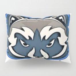 Raccoon procyonid native family abstractive ailment operator bush Pillow Sham
