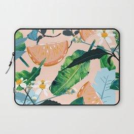 Summer Botanicals #illustration #pattern Laptop Sleeve