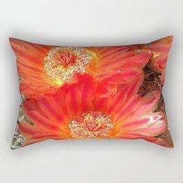 Barrel Cactus Blooms Rectangular Pillow