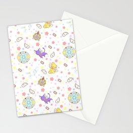 cardcaptor sakura kawaii pattern Stationery Cards