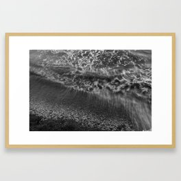 I sea you in black/white III Framed Art Print