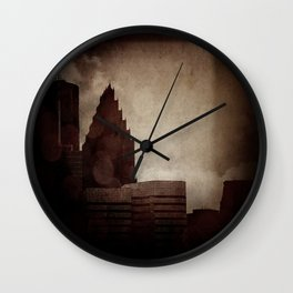 A City with No Name Wall Clock