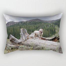 Charlotte in Muldoon Canyon Rectangular Pillow
