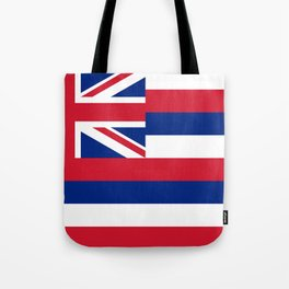 Hawaiian Flag, Official color & scale Tote Bag