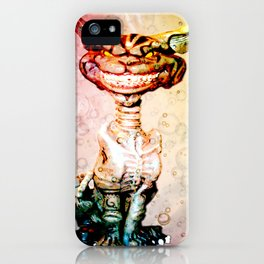 BEWARE THE CHESHIRE CAT GRIN iPhone Case