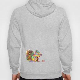 psychedelic squirrel Hoody