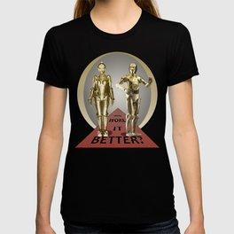 Maria vs C-3PO T-shirt